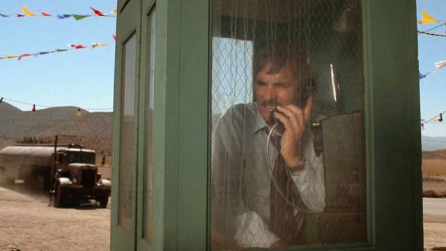 from the film Duel - phone box